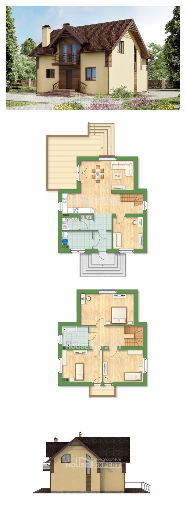 Проект дома 150-009-Л | House Expert