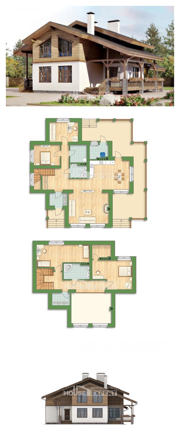 Проект дома 210-006-П | House Expert