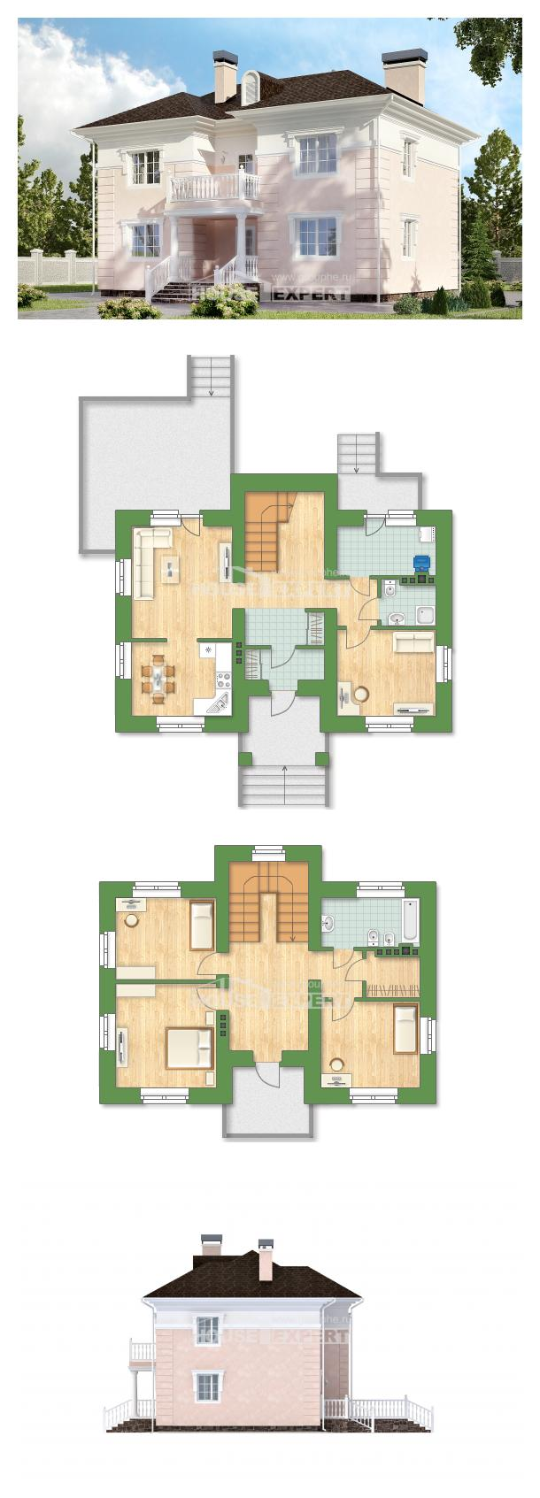 Проект дома 155-005-Л   House Expert