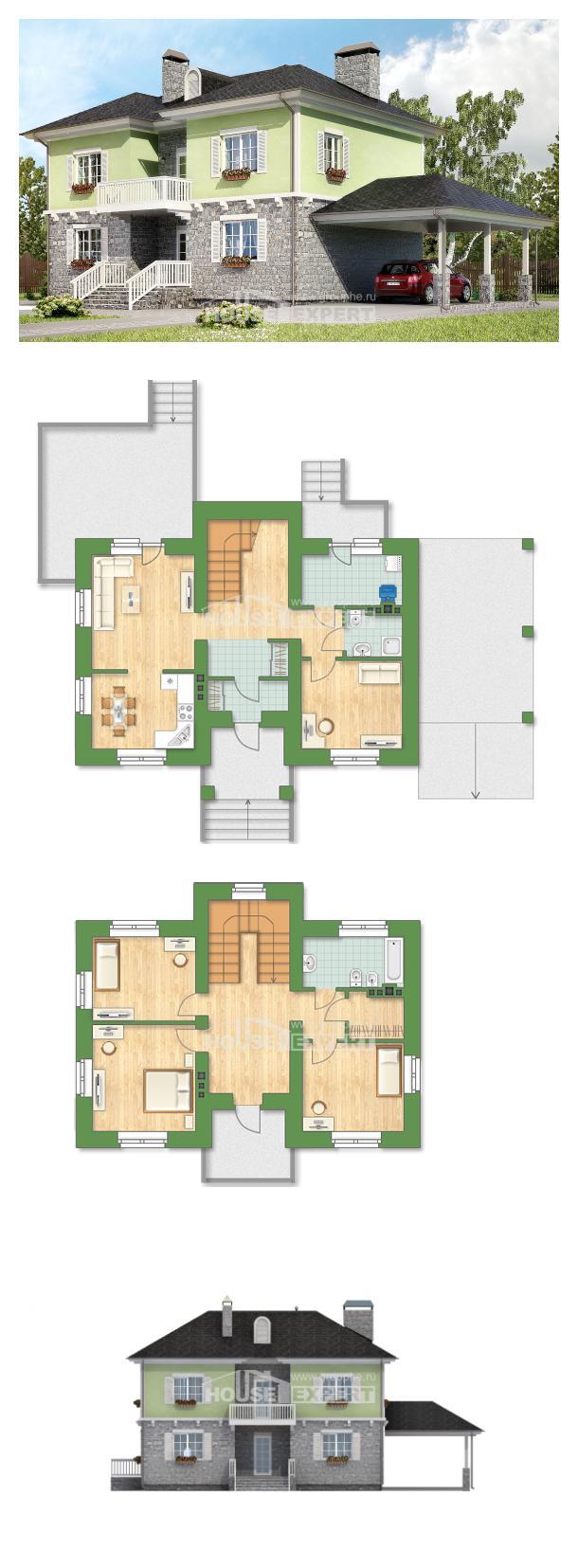 Проект дома 155-006-П | House Expert
