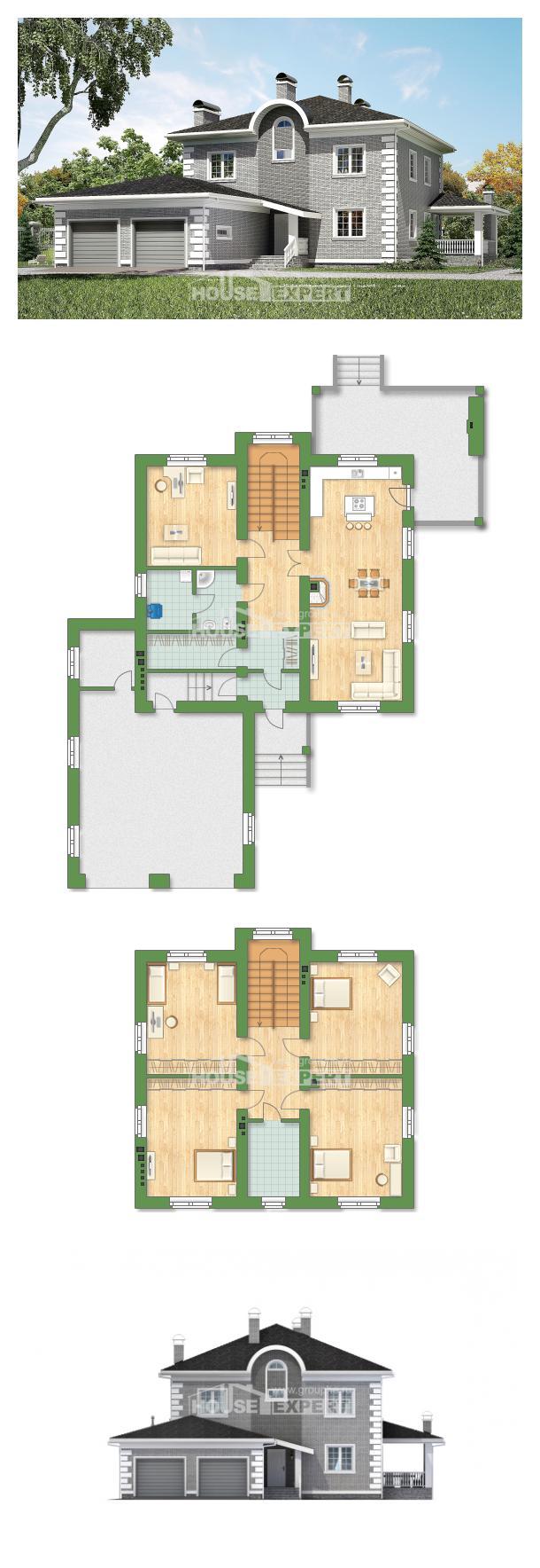 Проект дома 245-004-Л | House Expert