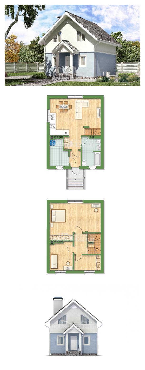 Проект дома 095-002-П   House Expert