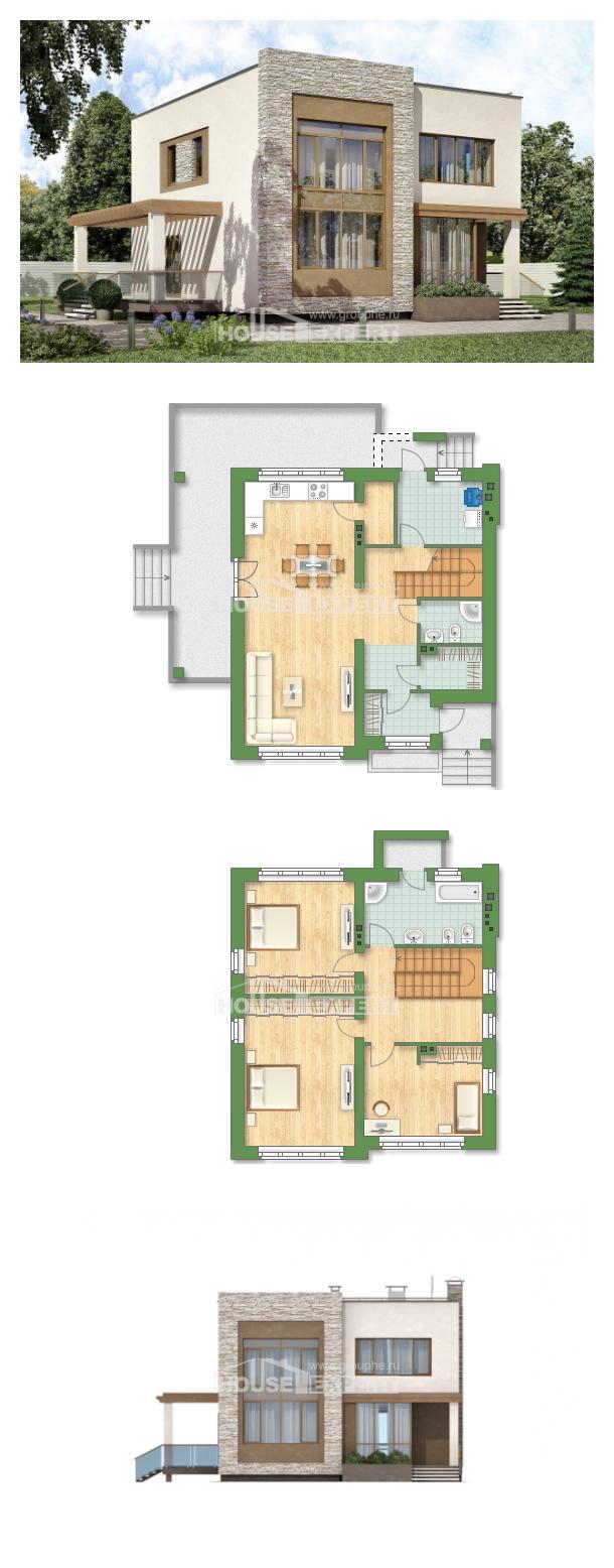 Проект дома 185-001-П | House Expert