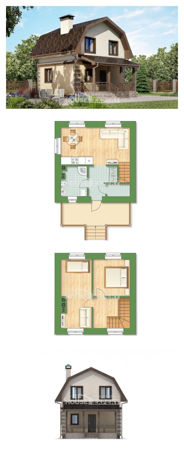 Проект дома 070-004-П   House Expert