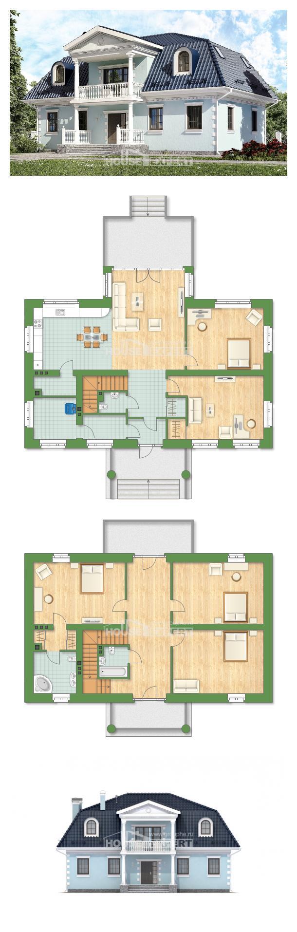 Проект дома 210-004-Л   House Expert