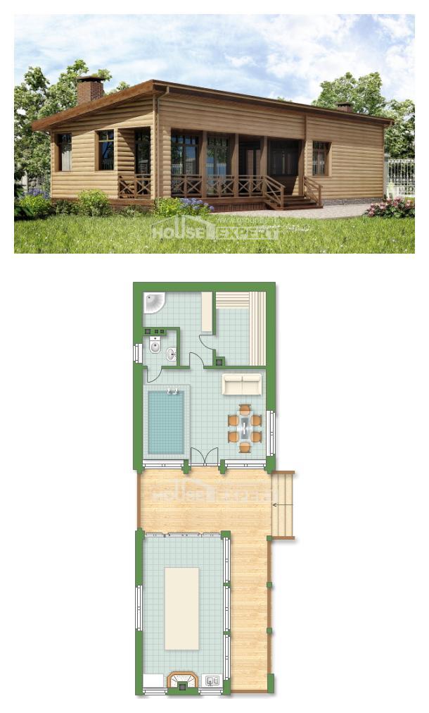 Проект дома 060-004-П | House Expert