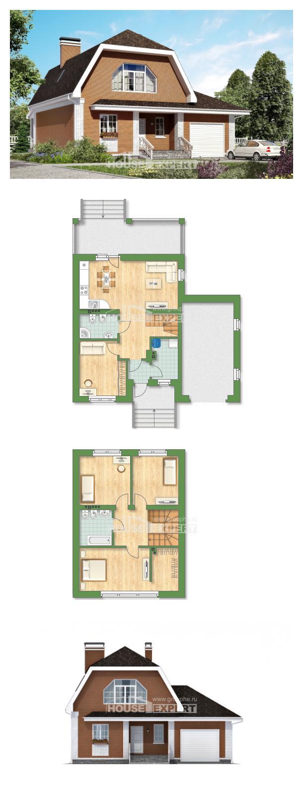 Проект дома 160-006-П | House Expert
