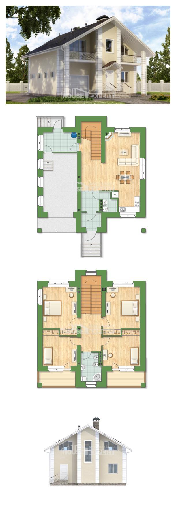 Проект дома 150-002-Л | House Expert