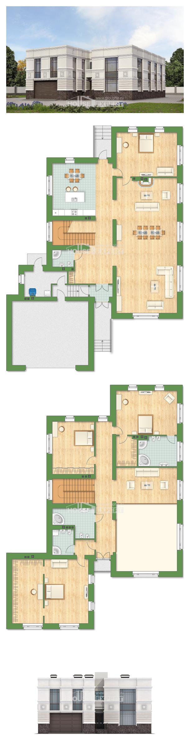Проект дома 400-005-Л | House Expert