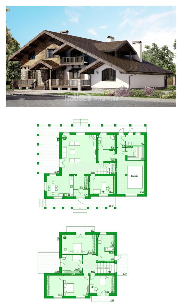 Проект дома 320-002-П | House Expert