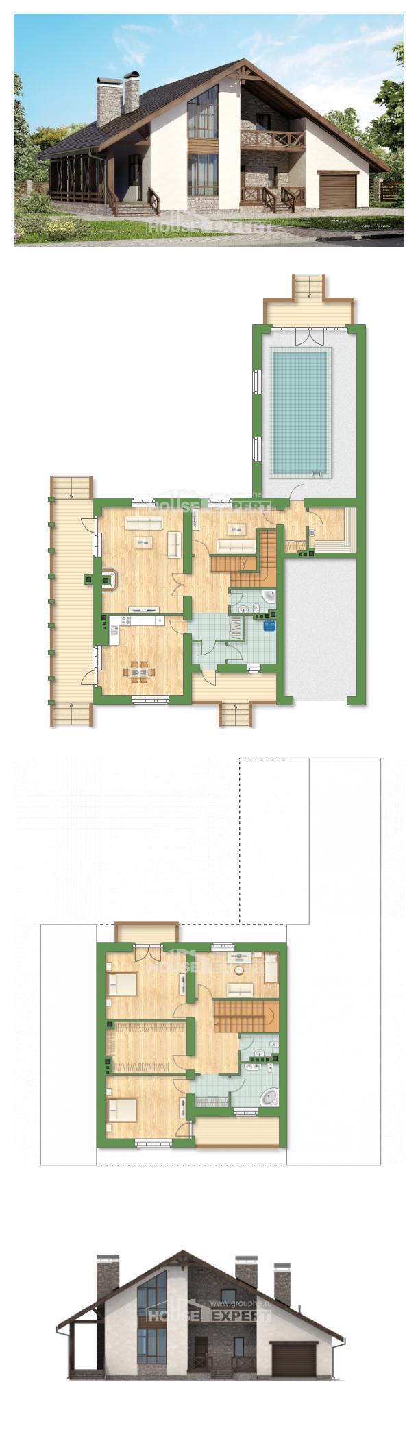 Проект дома 265-001-П   House Expert