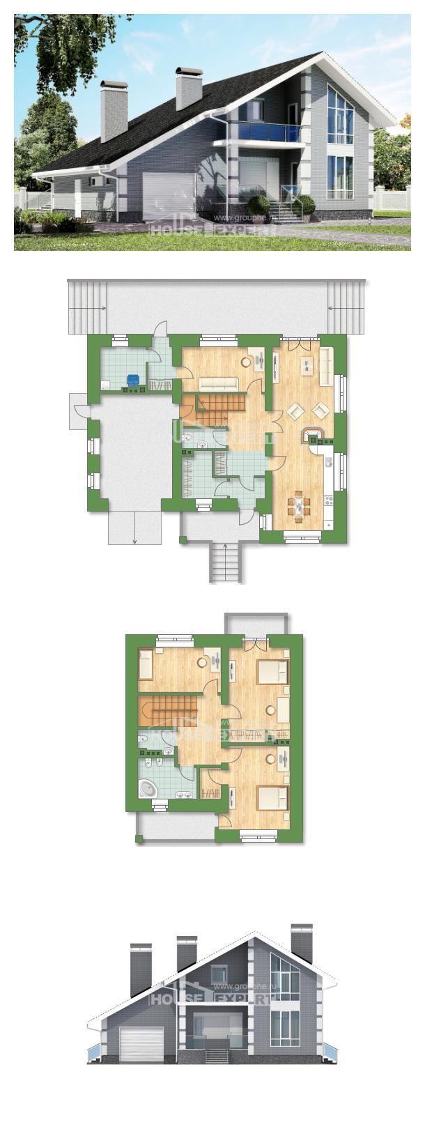 Проект дома 190-006-Л | House Expert