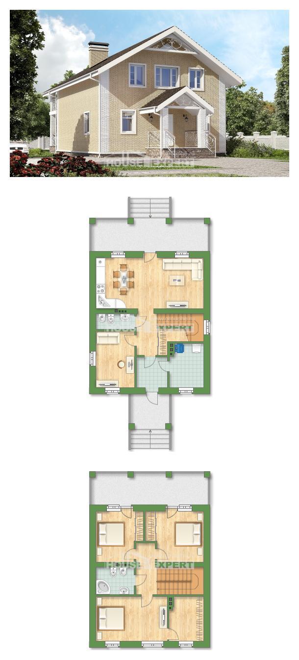 Проект дома 150-007-Л   House Expert