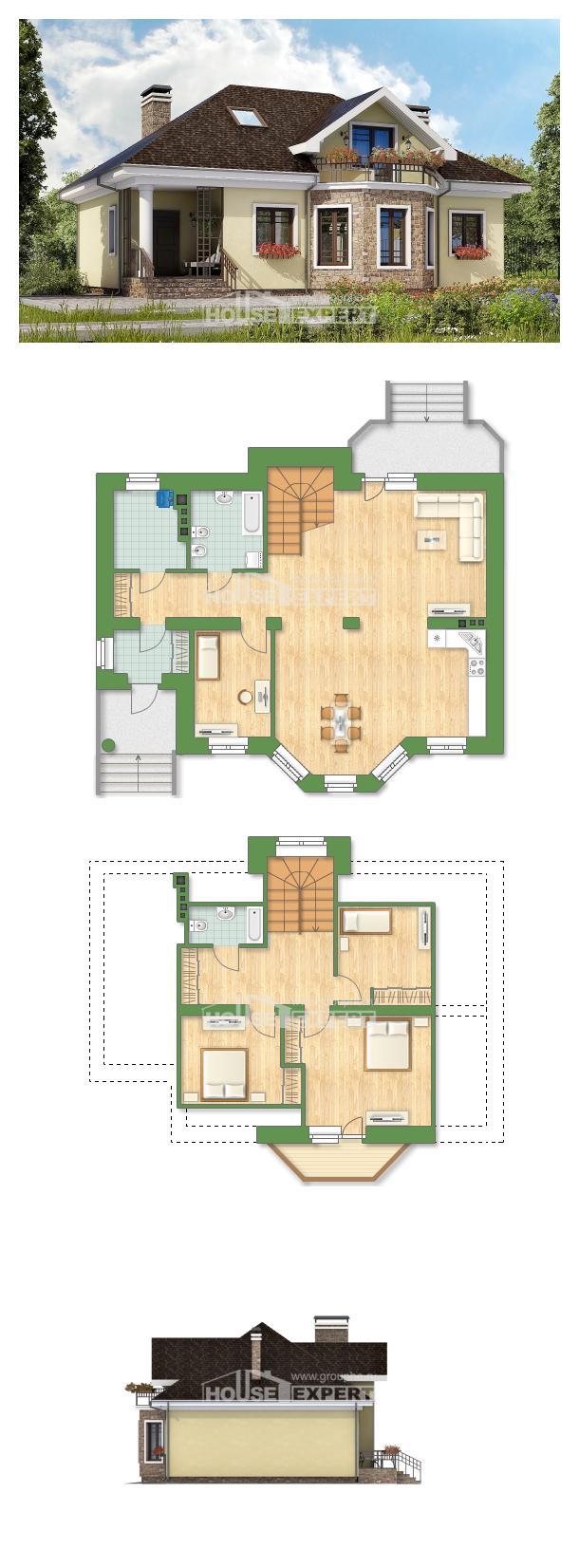 Проект дома 150-008-Л | House Expert