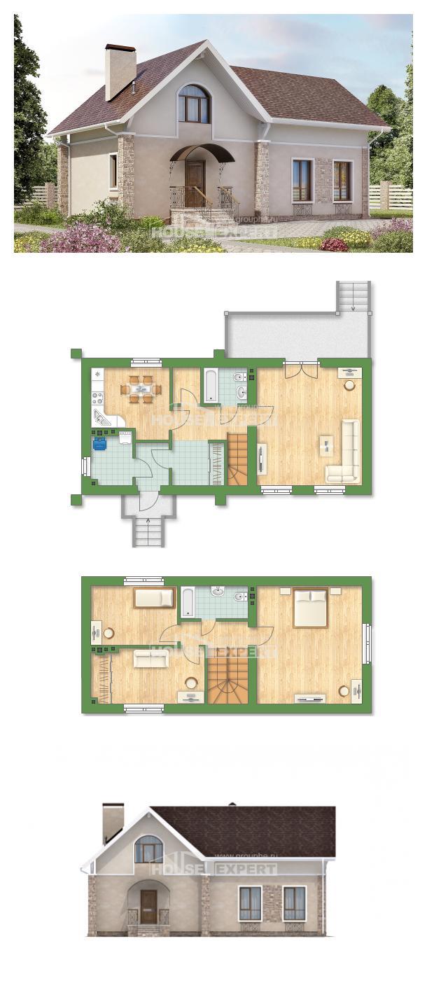 Проект дома 150-012-Л   House Expert