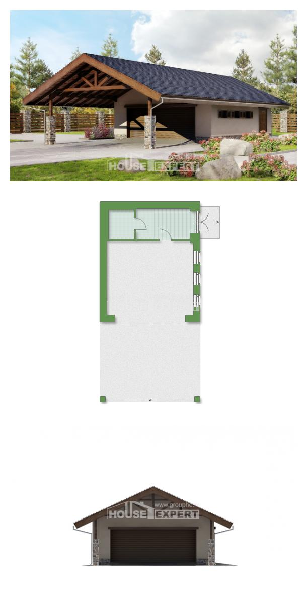 Проект дома 060-005-П | House Expert