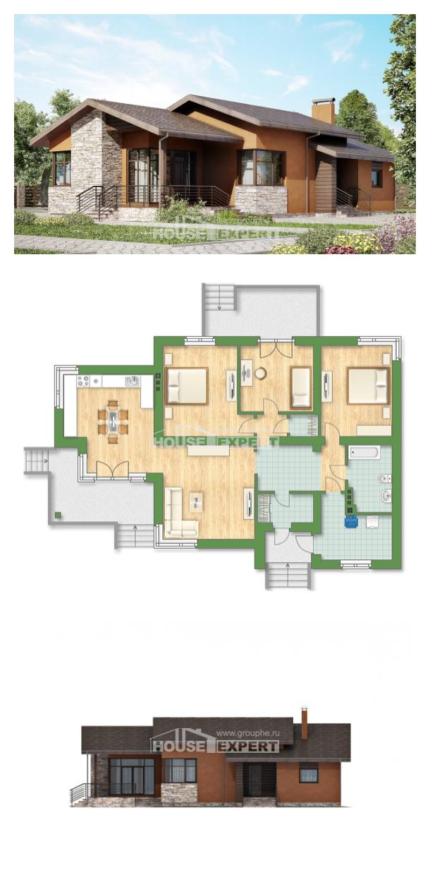 Проект дома 130-007-П   House Expert