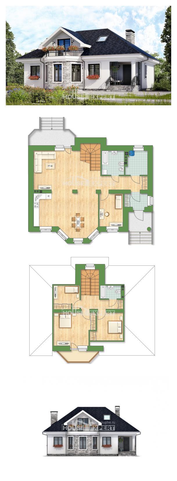 Проект дома 150-008-П | House Expert