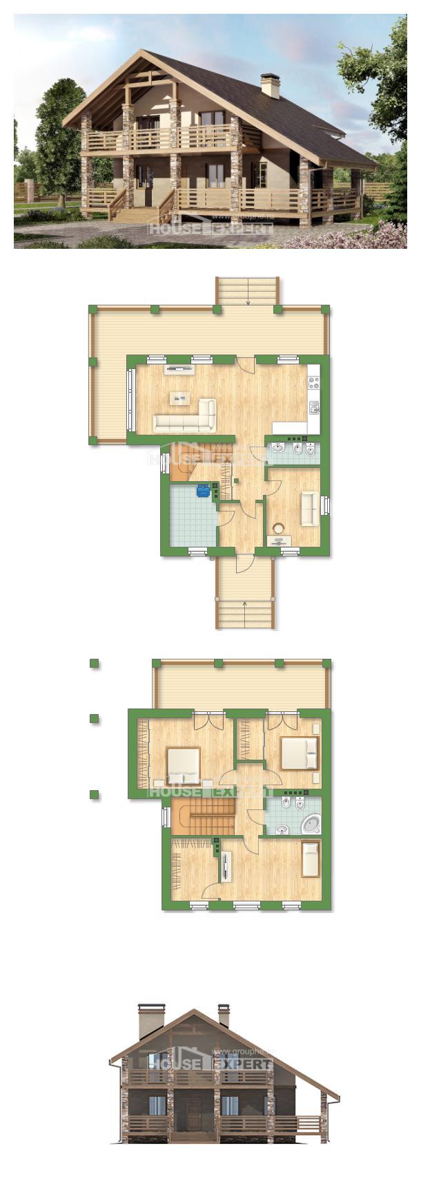 Проект дома 160-010-Л | House Expert