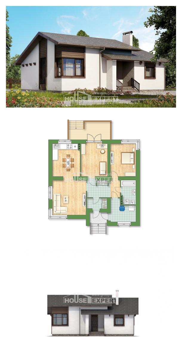 Проект дома 110-003-П | House Expert