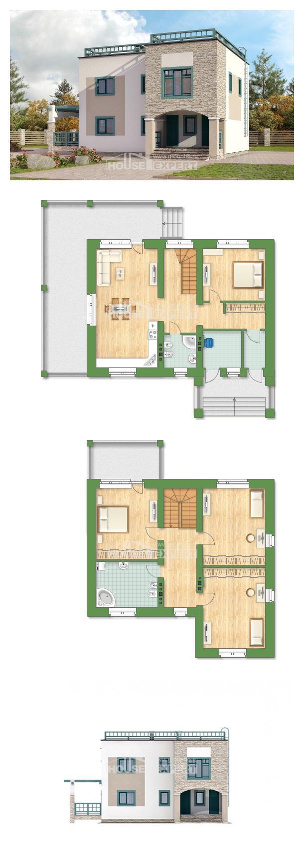 Проект дома 150-010-П | House Expert