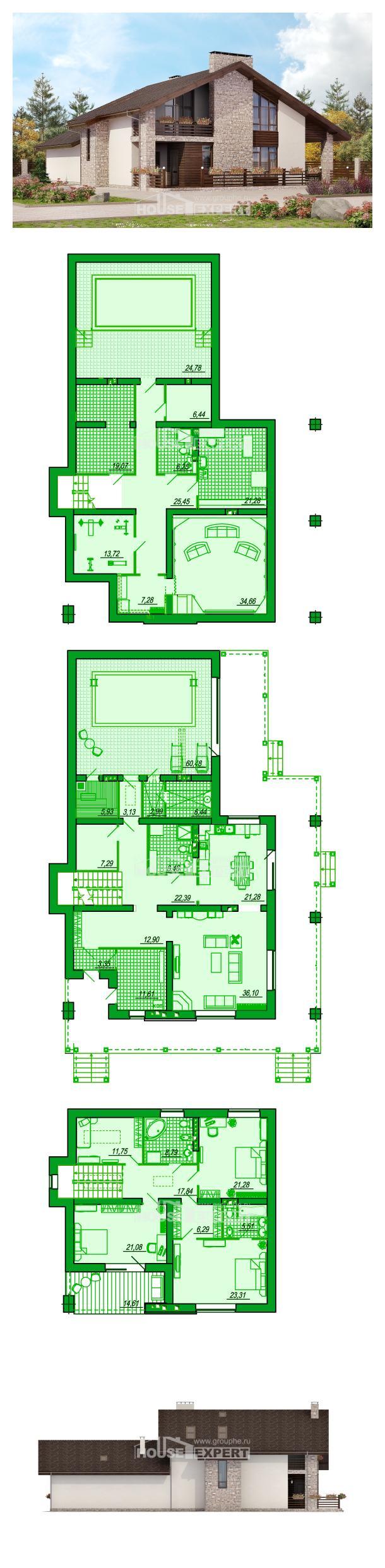 Проект дома 480-001-Л | House Expert