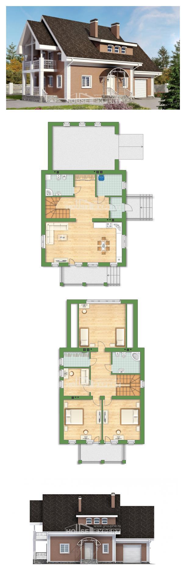 Проект дома 185-003-П | House Expert
