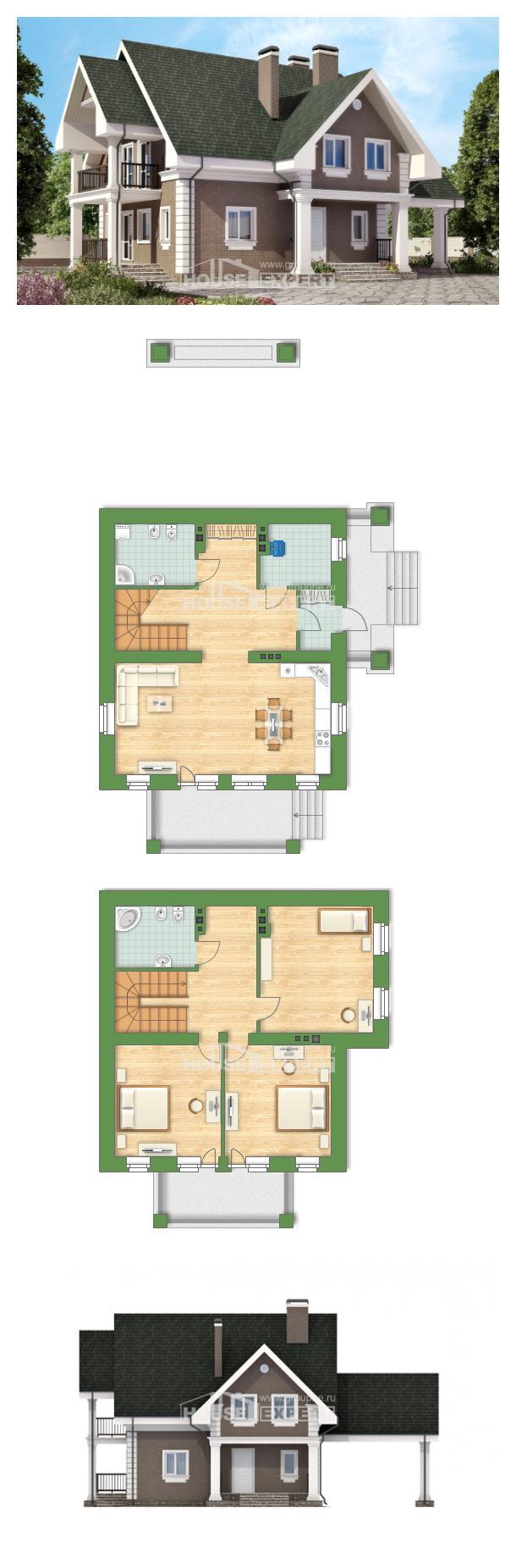 Проект дома 140-003-П | House Expert