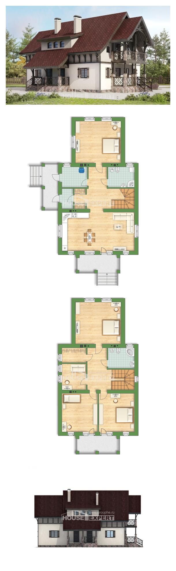 Проект дома 180-014-П | House Expert