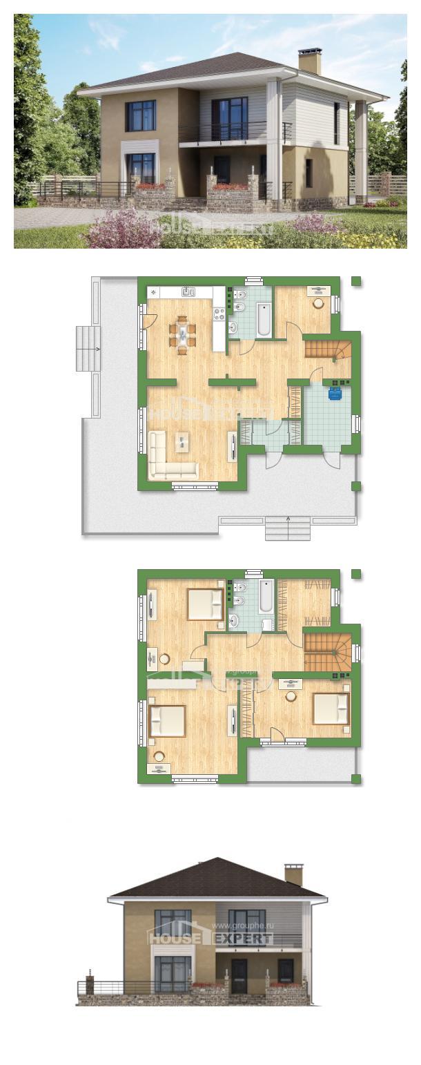 Проект дома 180-015-Л | House Expert
