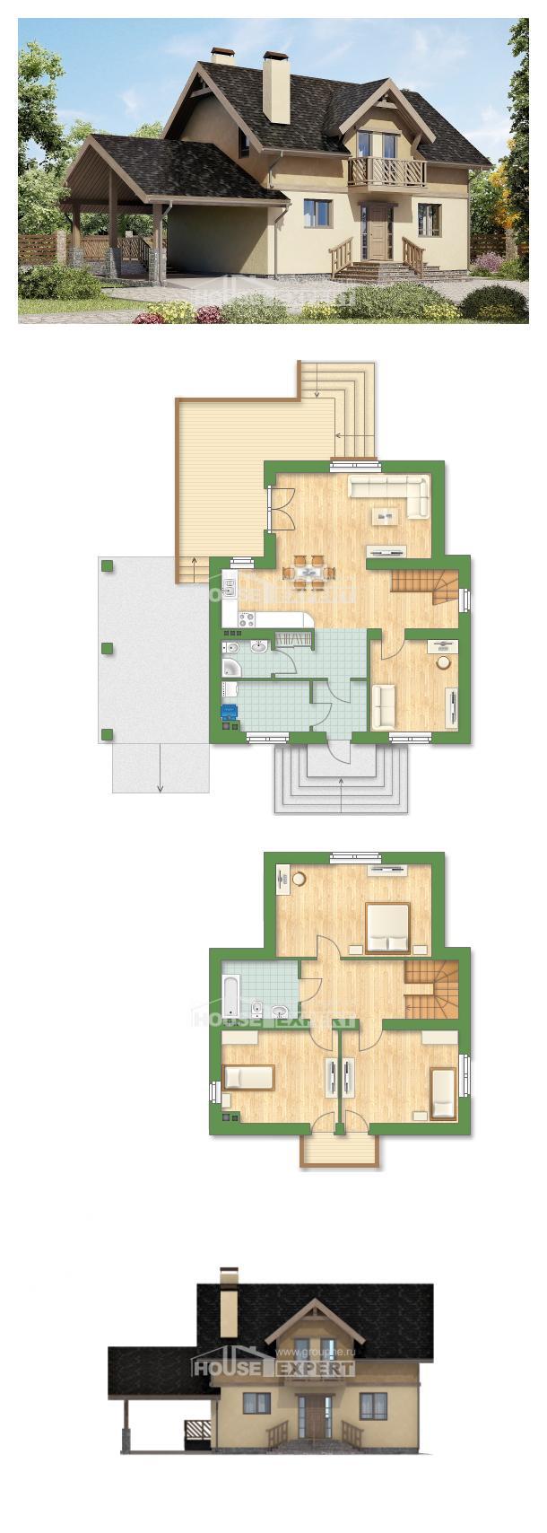 Проект дома 150-011-Л | House Expert