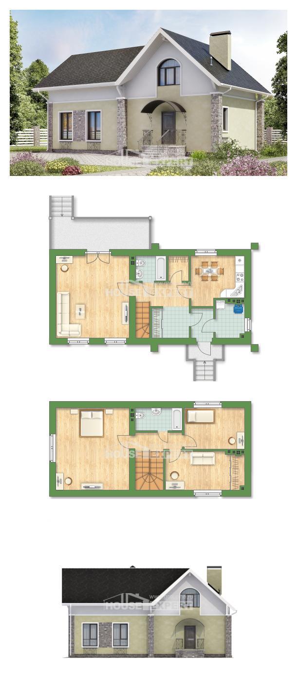 Проект дома 150-012-П | House Expert