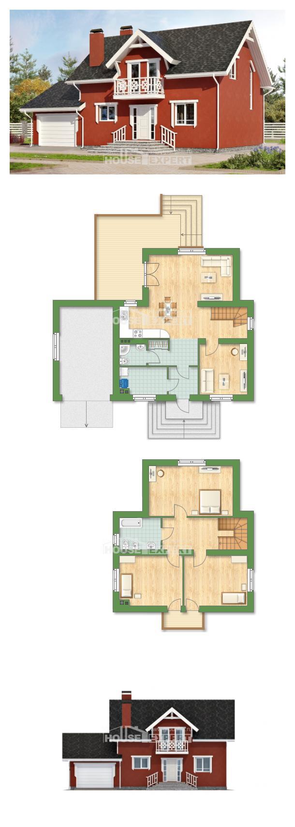 Проект дома 180-013-Л   House Expert