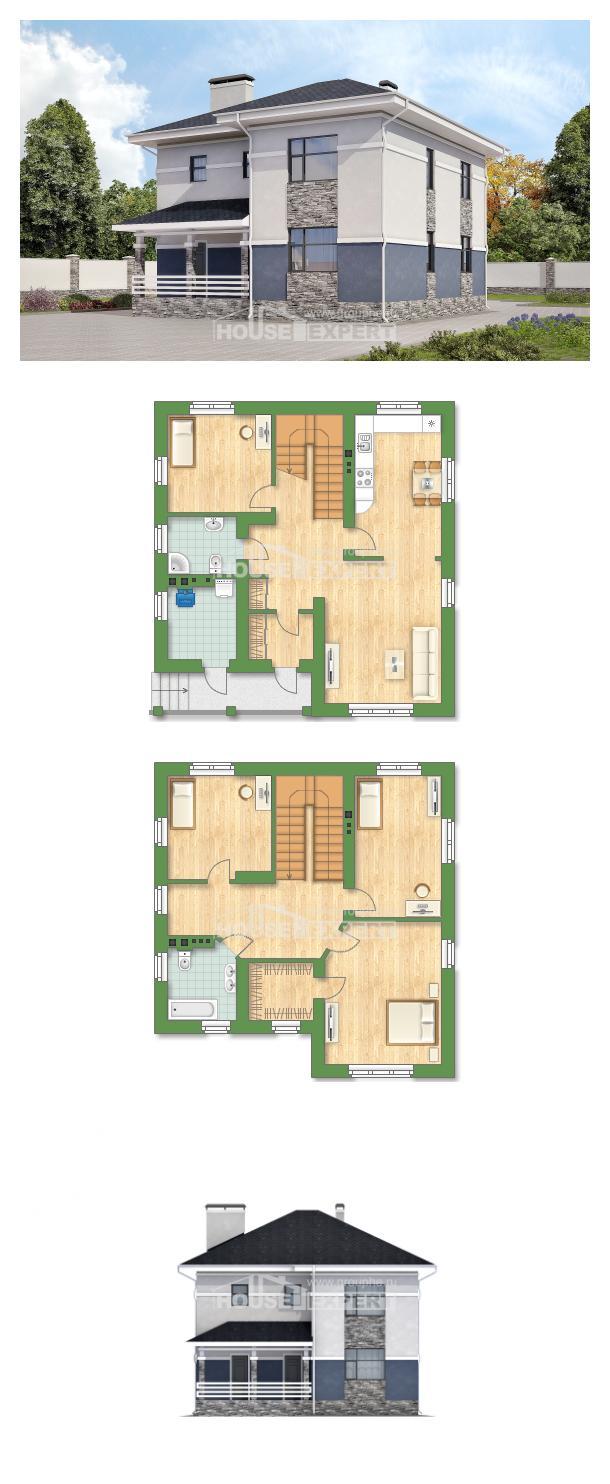 Проект дома 150-014-Л | House Expert