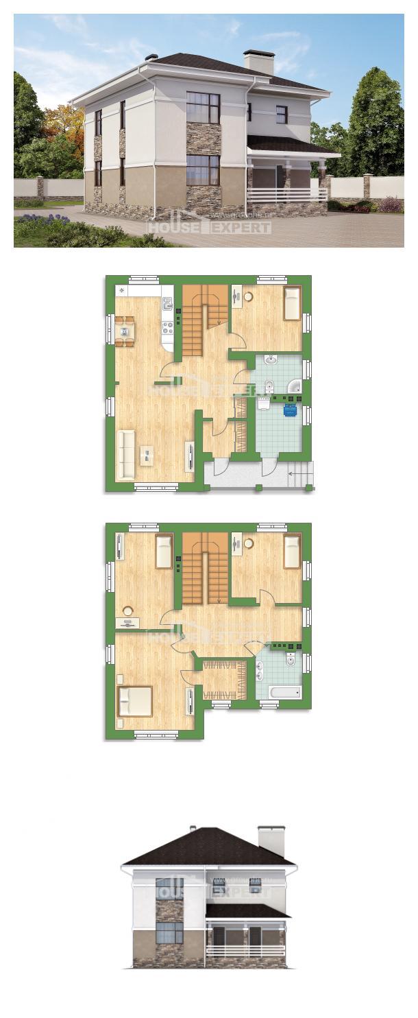 Проект дома 150-014-П | House Expert