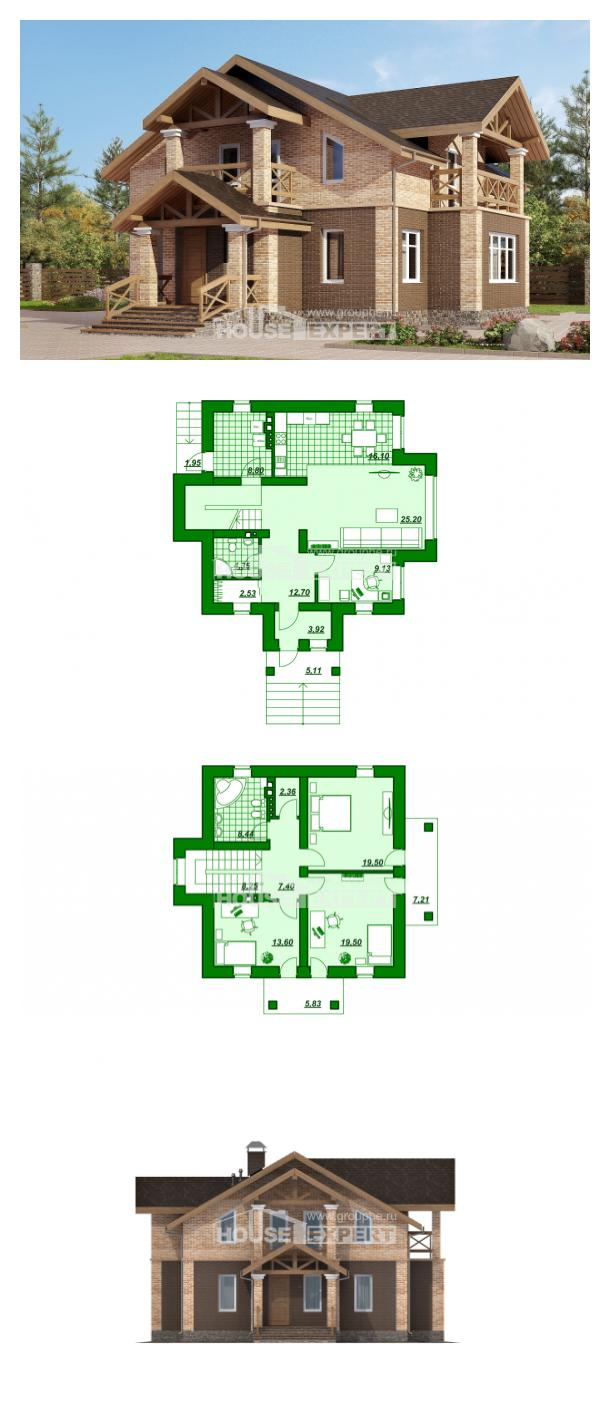 Проект дома 160-014-П | House Expert
