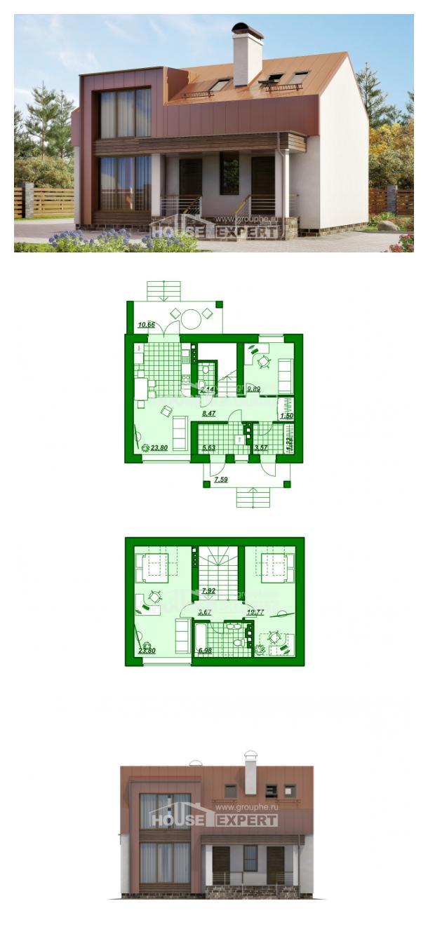 Проект дома 120-004-Л | House Expert