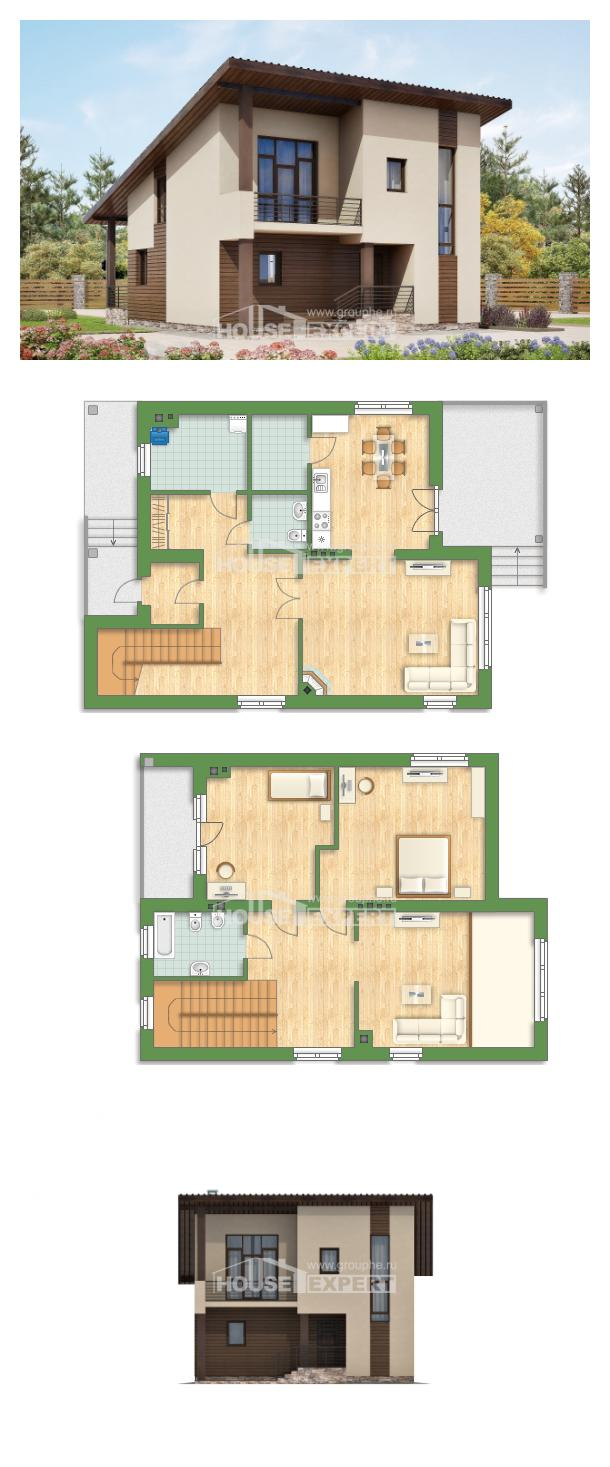 Проект дома 140-005-Л | House Expert