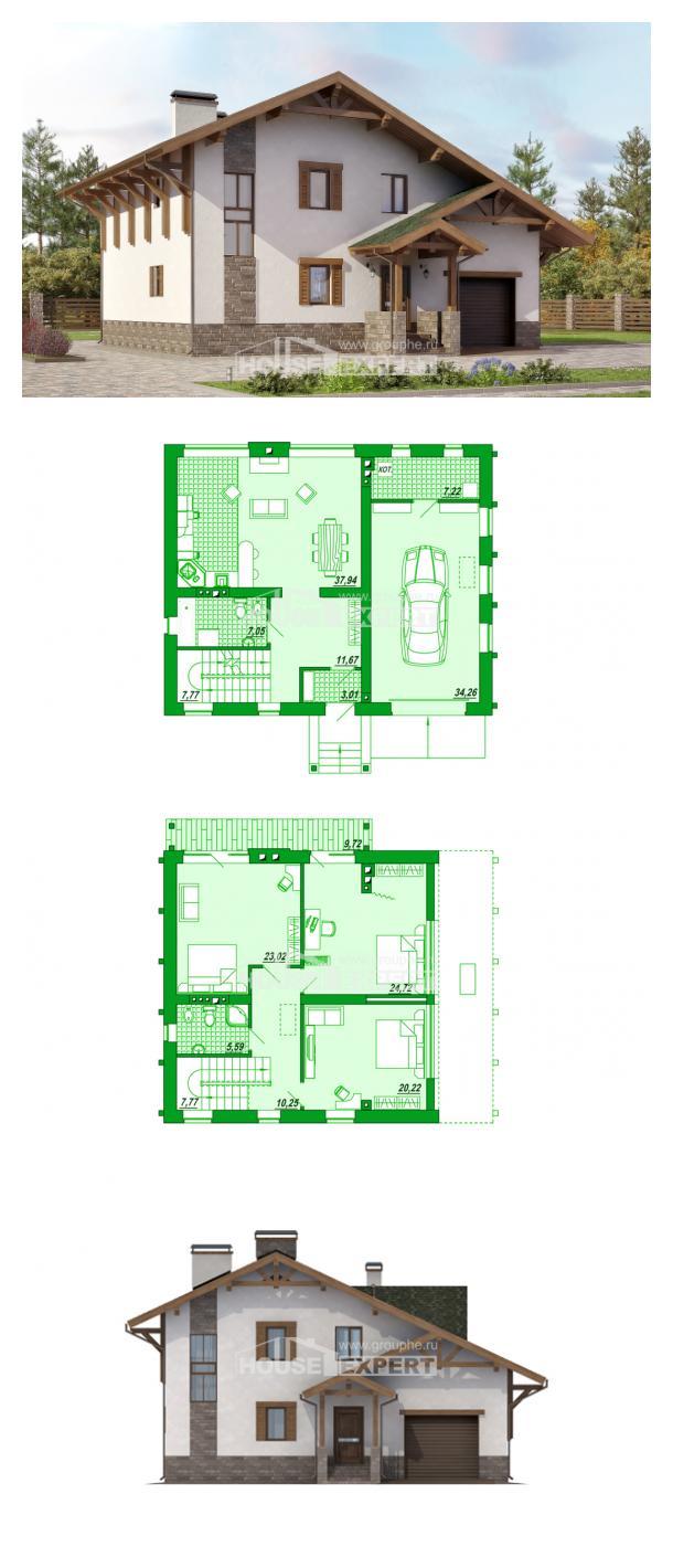 Проект дома 190-007-П | House Expert