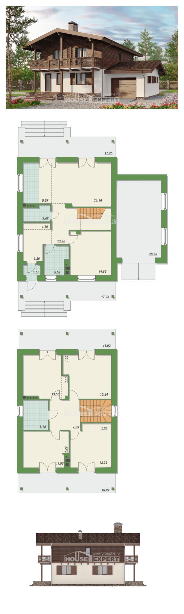 Проект дома 180-018-Л   House Expert