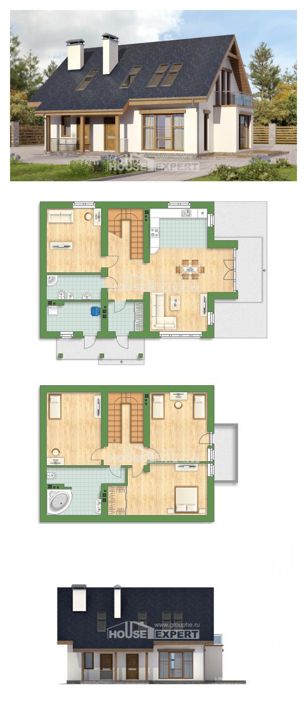 Проект дома 155-012-П   House Expert