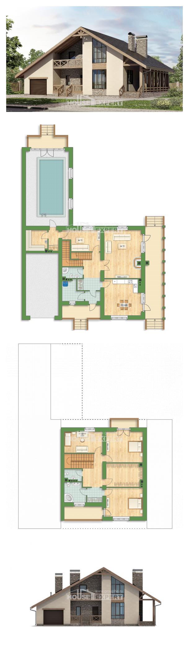 Проект дома 265-001-Л   House Expert