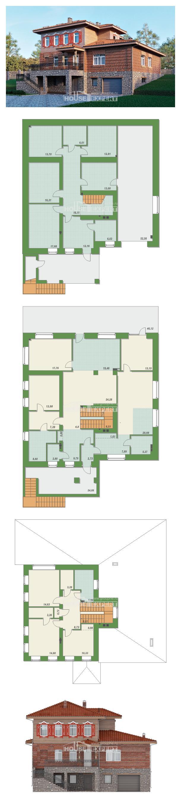 Проект дома 380-002-Л   House Expert