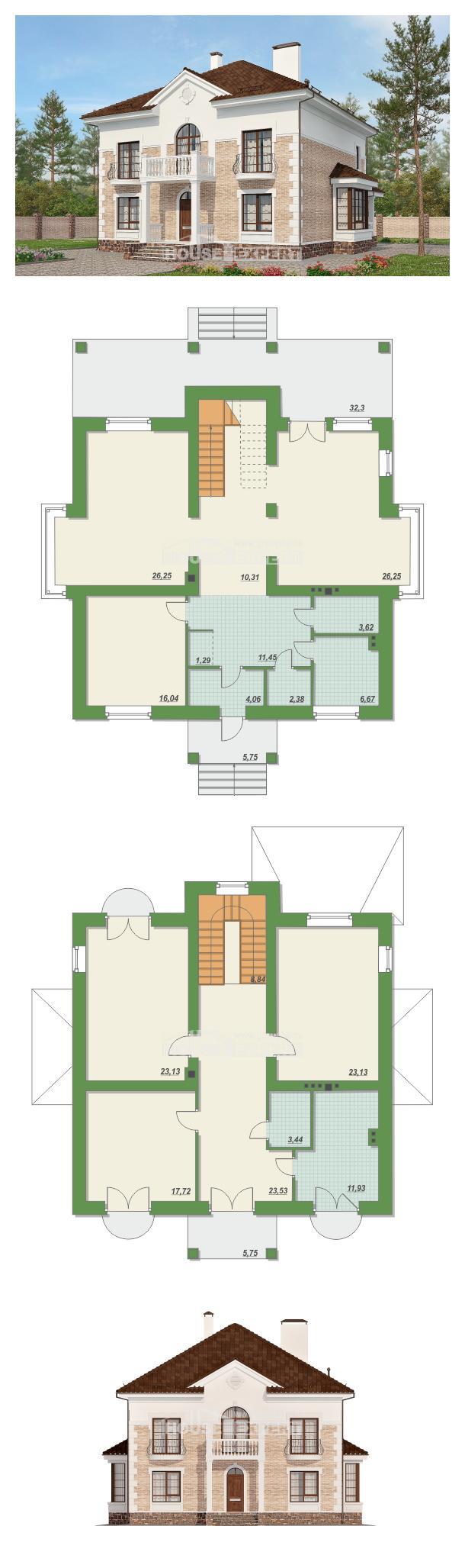 Проект дома 220-008-П   House Expert
