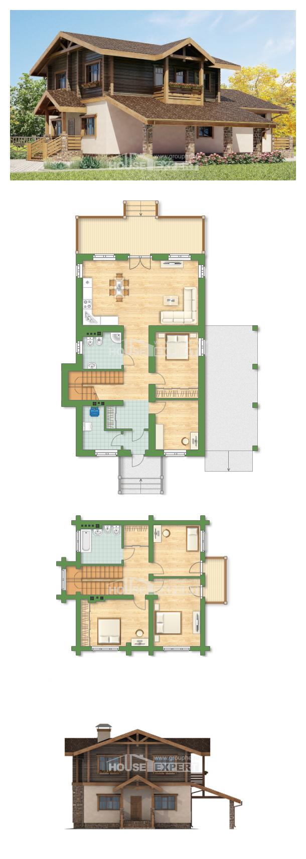 Проект дома 170-004-П   House Expert