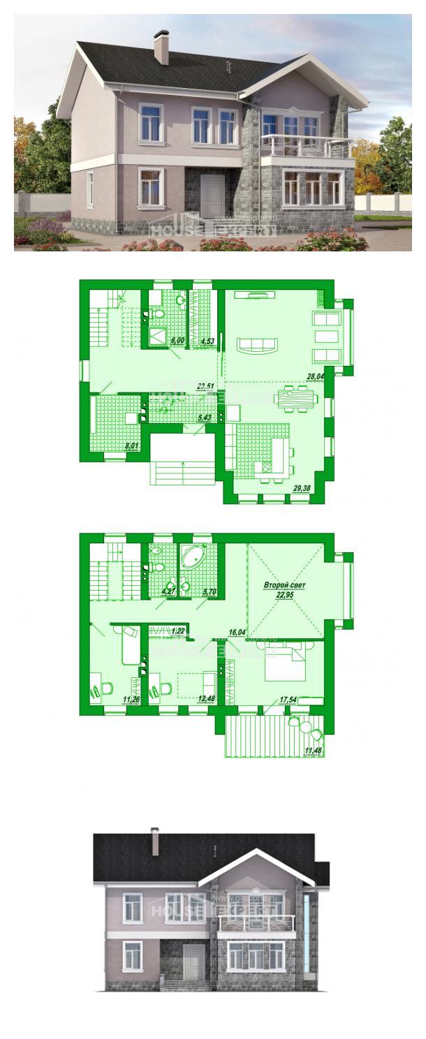 Проект дома 170-008-П | House Expert