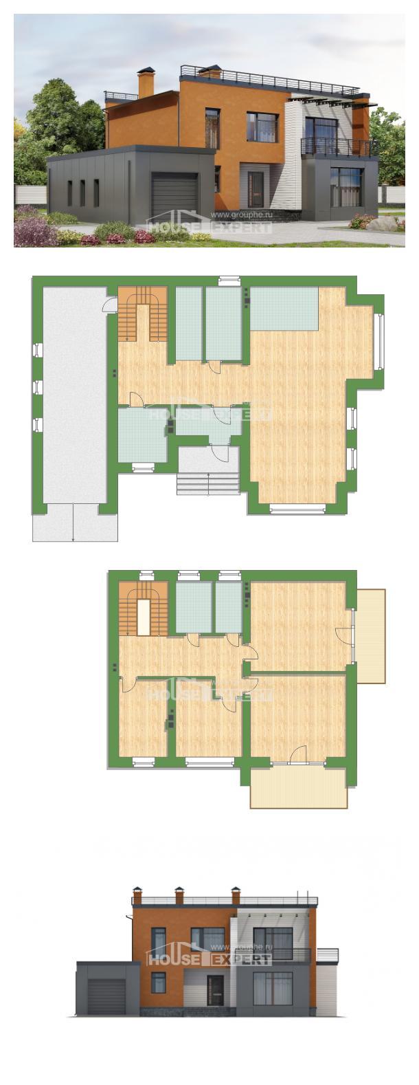 Проект дома 260-002-Л   House Expert