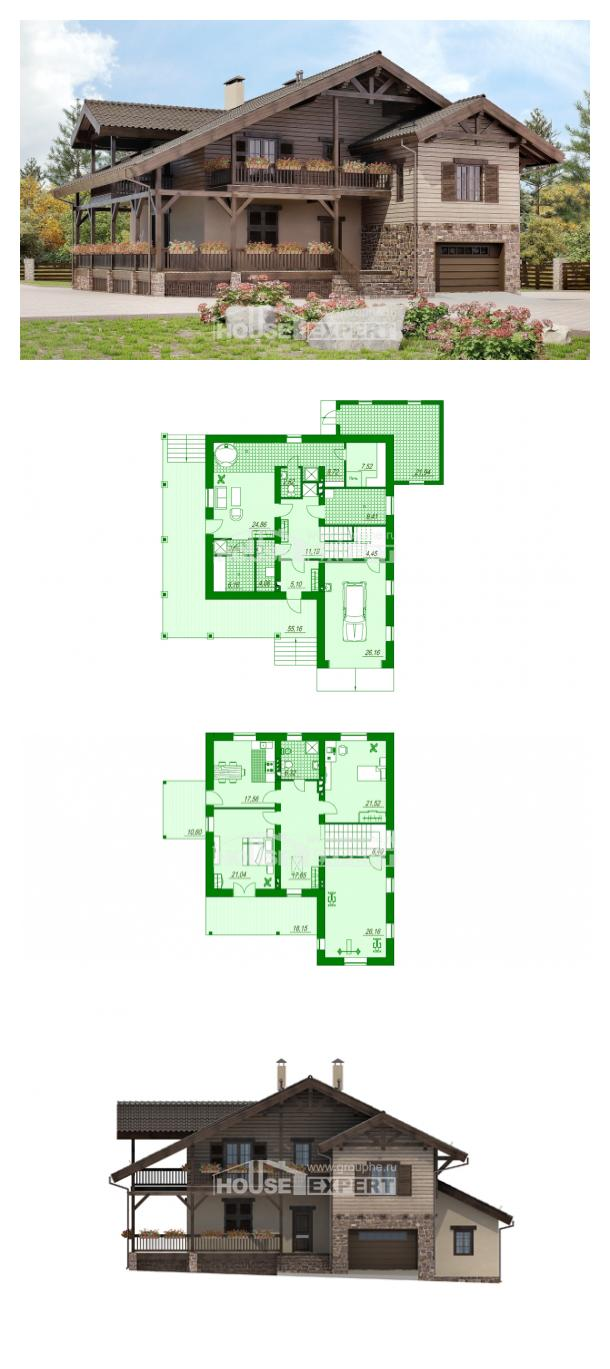 Проект дома 255-002-П   House Expert