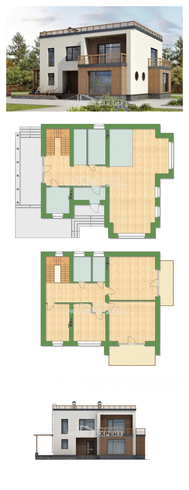 Проект дома 215-002-Л | House Expert