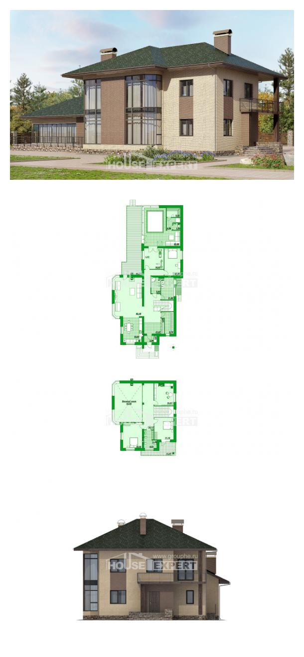 Проект дома 305-003-П | House Expert